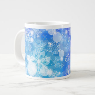 Snowflake Fantasy Large Coffee Mug