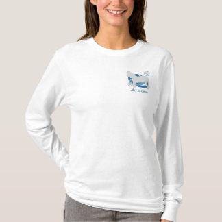 Snowflake Fila Brasileiro Embroidered Long Sleeve T-Shirt
