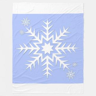 Snowflake! Fleece Blanket