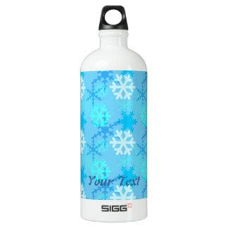 Snowflake Flurry Customizable SIGG Traveler 1.0L Water Bottle