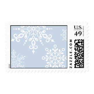 Snowflake flutters Stamp