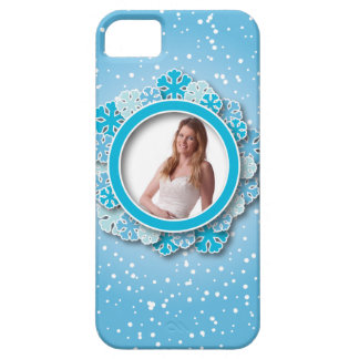 Snowflake frame iPhone SE/5/5s case