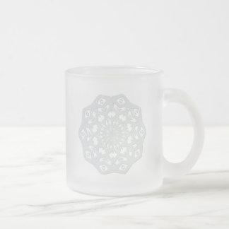 Snowflake Frosted Glass Mug