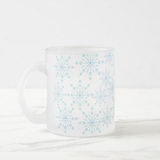Snowflake Frosted Mug