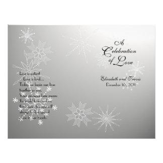 Snowflake Gems Silver program Flyer