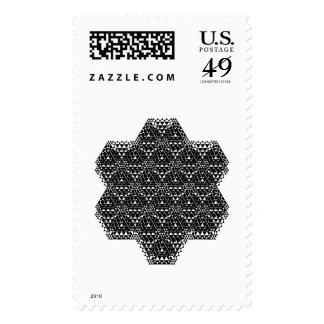 Snowflake Generator Ap Postage Stamp
