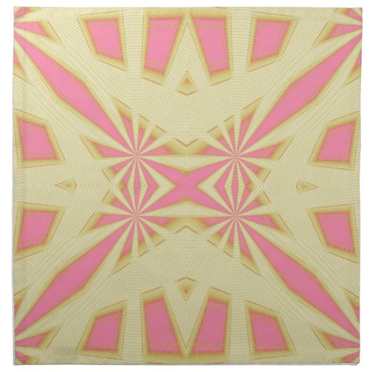 Snowflake - Geometric Abstract Napkin