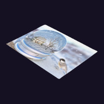 Snowflake Globe Doormat