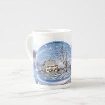Snowflake Globe Specialty Mug