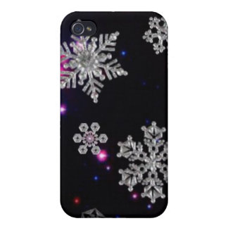 Snowflake Heaven Cover For iPhone 4