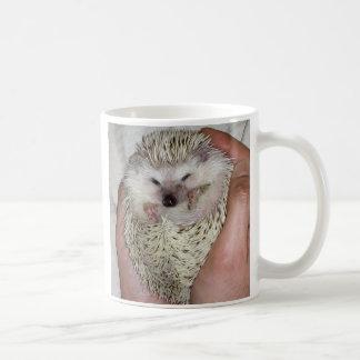 Snowflake hedgehog mug