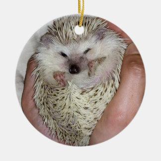Snowflake hedgehog ornament