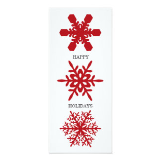 Snowflake Holiday Card
