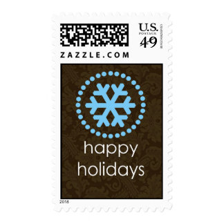 Snowflake Holiday Postage