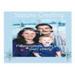 Snowflake Holiday  Postcard