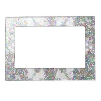 Snowflake Impression Magnetic Photo Frame