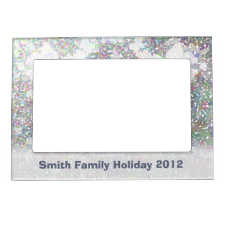 Snowflake Impression Magnetic Picture Frame