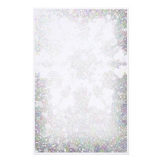Snowflake Impression Stationery