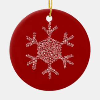 Snowflake in a Snowflake Ornament