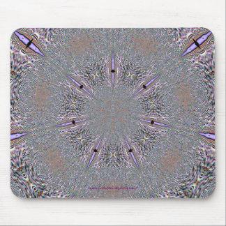 Snowflake In Lavendar Mousepad
