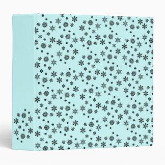 Snowflake Invasion Pattern Binder