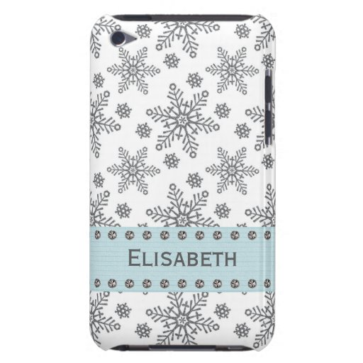 Snowflake iPod Touch 4th Gen Case-Mate Cover