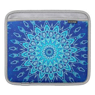Snowflake Kaleidoscope iPad Sleeves