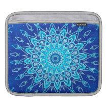 Snowflake Kaleidoscope Sleeve For iPads