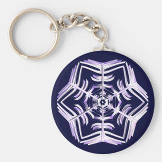 Snowflake Key Chains