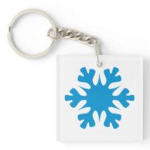 Snowflake Keychain