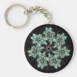 snowflake keychains