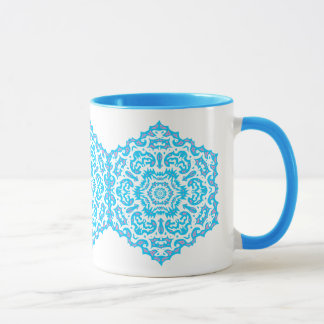 Snowflake Lace Custom  Mug