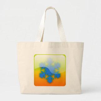 Snowflake Large Tote Bag