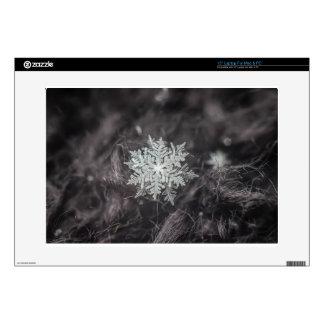 Snowflake Layers - Macro Laptop Skin