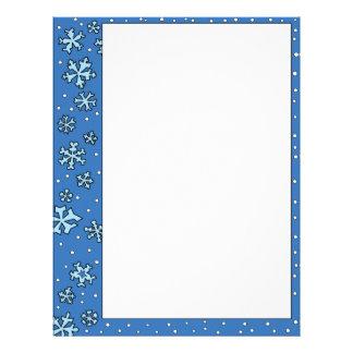 Snowflake Letterhead Letterhead Template