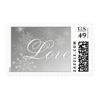 Snowflake Love Stamp