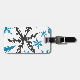 Snowflake Luggage Tag