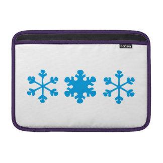 snowflake MacBook air sleeve