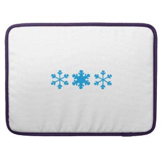 snowflake MacBook pro sleeves