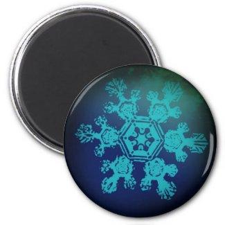 Snowflake Magnet 1 magnet
