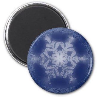 Snowflake Magnet 2 magnet
