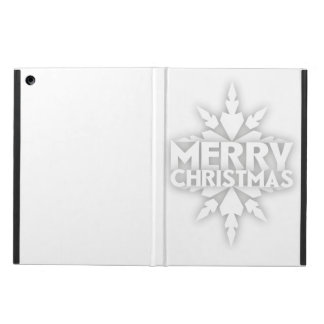 Snowflake Merry Christmas Case For iPad Air
