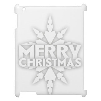 Snowflake Merry Christmas Case For The iPad