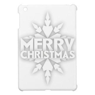 Snowflake Merry Christmas Case For The iPad Mini