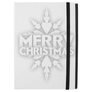 "Snowflake Merry Christmas iPad Pro 12.9"" Case"