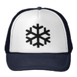 Snowflake Mesh Hats