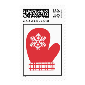 Snowflake Mitten Stamps