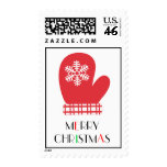 Snowflake Mitten Postage Stamps