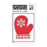 Snowflake Mitten Stamp