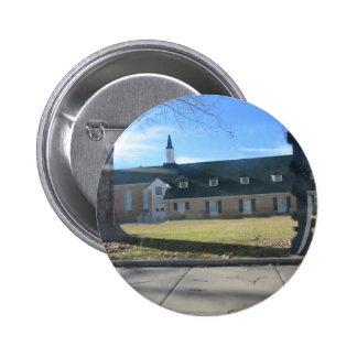 Snowflake Mormon Church 2 Inch Round Button